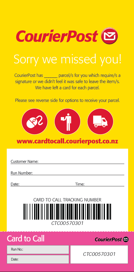 how to track if i send a parcel thru post